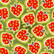 Free Strawberry Background Royalty Free Stock Images - 8089939