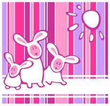 Free Three Rabbits Stock Photos - 8089943