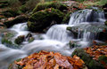 Free Autumn Waterfall In Bohemia Stock Images - 8092644
