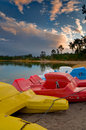 Free Pedal Boats Royalty Free Stock Photos - 8093338