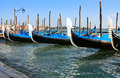 Free View Of The Grand Canal With Gondolas Royalty Free Stock Photography - 8093547