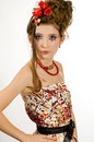 Free Beautiful Girl With Special Eye Makeup Stock Photos - 8096283
