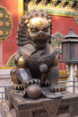 Free Metal Lion Stock Image - 8096611
