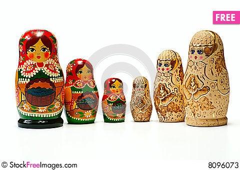 Free Russian Dolls Stock Photos - 8096073