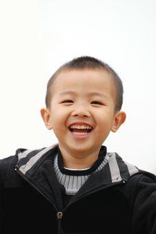 Free Smiling Boy Stock Image - 8090211