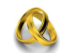 Free Wedding Rings 3D Stock Images - 8090774