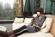 Free Beautiful Asia Woman Stock Photography - 8091172