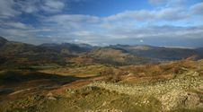 Free View From Black Crag Stock Image - 8091221