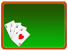 Free Poker Banner (03) Royalty Free Stock Photography - 8091267