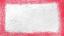 Free Red And White Abstract Frame Stock Photography - 8091462