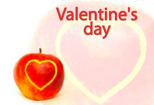 Free Card - Valentines Day Stock Images - 8091474