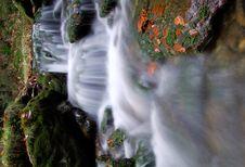 Free Autumn Waterfall In Bohemia Royalty Free Stock Photos - 8092628