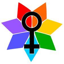 Free Woman Symbol Royalty Free Stock Photography - 8092667