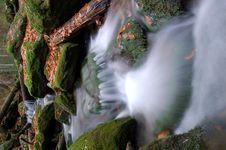 Free Autumn Waterfall In Bohemia Royalty Free Stock Photo - 8092675