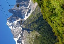 Free Savoy Alps In France Royalty Free Stock Image - 8092736