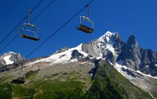 Savoy Alps In France Royalty Free Stock Photo