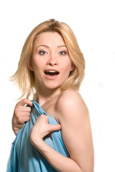Free Surprised Woman Royalty Free Stock Image - 8092776