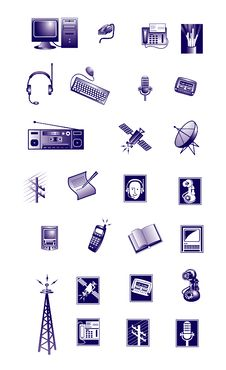 Free Icons Stock Images - 8093884