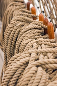 Free Rigging Rope Stock Photography - 8094522