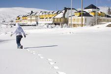 Free Snow Landscape Stock Images - 8094524
