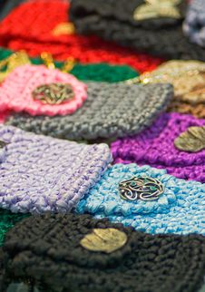 Free Knitted Cases Royalty Free Stock Photos - 8094608