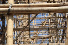 Free Bamboo Building Stock Photography - 8095012