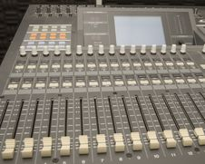 Free Sound And Music Mixer Stock Photos - 8095043