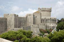 Free Dubrovnik Walls Royalty Free Stock Image - 8095546