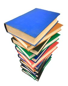 Free Stack Of Books Royalty Free Stock Image - 8095726