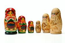 Free Russian Dolls Stock Photos - 8096073