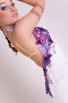 Free Close-up Of Professional Dancer Girl Royalty Free Stock Images - 8096579