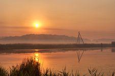 Free Sunrise In Ukrainian Countryside Stock Photos - 8096843