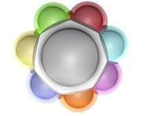 Free Silver Abstract Leader Stock Photo - 8097110