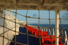Free Ferry-board La Manche Stock Photos - 8097263