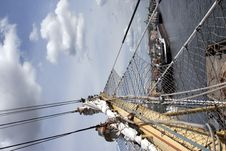 Free Sails At The St.Petersburg Pano Stock Photos - 8097653