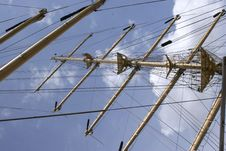 Free Mast Of Sail Ship Royalty Free Stock Images - 8097699