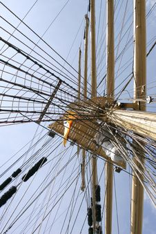 Free Mast Of Sail Ship Stock Image - 8097731