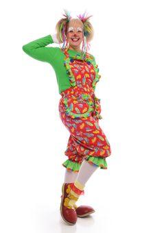 Clown S Portrait Stock Photography