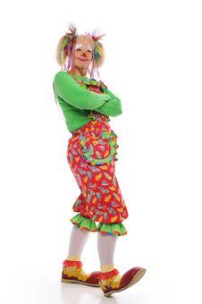Clown S Portrait Royalty Free Stock Image