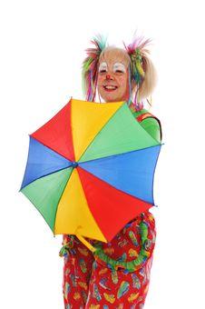 Clown S Portrait Royalty Free Stock Photos