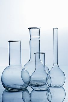 Free Glass Laboratory Equipment Royalty Free Stock Images - 8097959