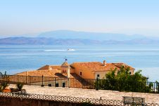 Free View Of Mediterranean Sea Royalty Free Stock Photos - 8098328