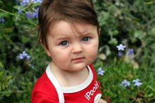 Free Baby 9 Month Old Stock Photos - 8098393
