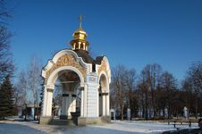 Free Saint Michael S  Cathedral In Kiev Stock Images - 8098434