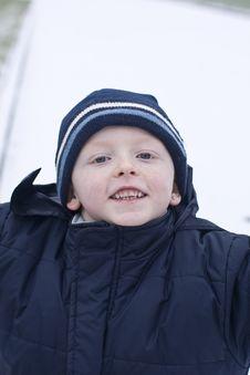 Free Mischievous Boy Royalty Free Stock Image - 8098436