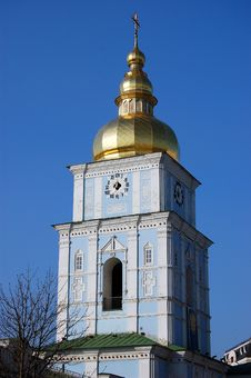 Free Saint Michael S  Cathedral In Kiev Royalty Free Stock Photography - 8098537