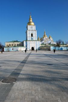 Free Saint Michael S  Cathedral In Kiev Royalty Free Stock Images - 8098699