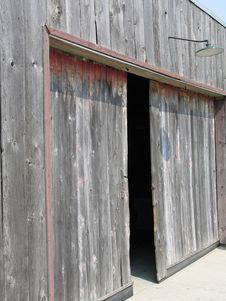 Free Garage Door Royalty Free Stock Image - 8098916