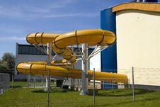 Water Slide Stock Image