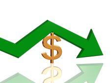 Dollar Arrow Stock Images